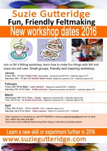 Workshops 21a New St Jan 2016